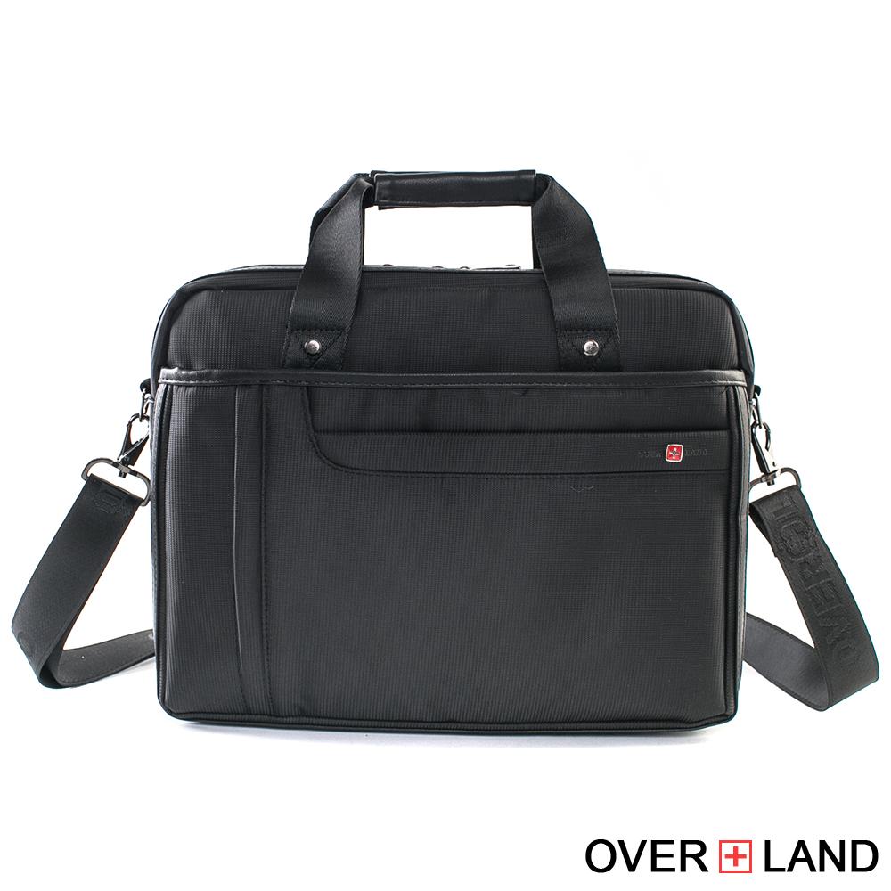 OVERLAND-美式十字軍x紳士簡約公事包
