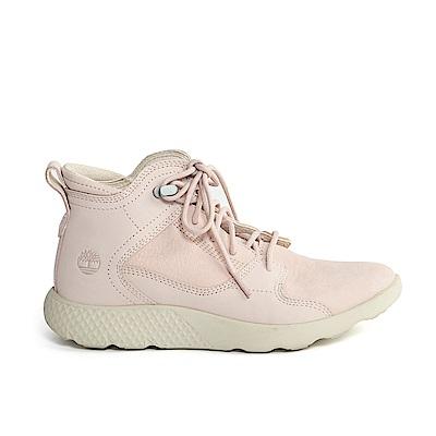 Timberland 女款粉紅色FlyRoam中筒休閒鞋