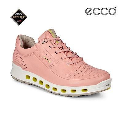 ECCO COOL 2.0 360度環繞防水休閒運動鞋-粉