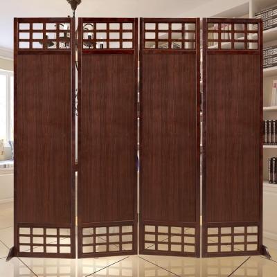 時尚屋 中國風歐亞6尺實木屏風 寬182cm-免組