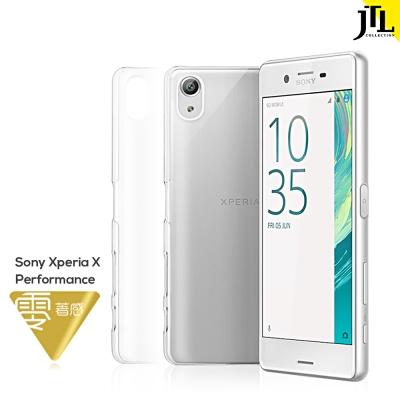 JTL Sony Xperia X Performance 輕量透明超抗刮手機保...