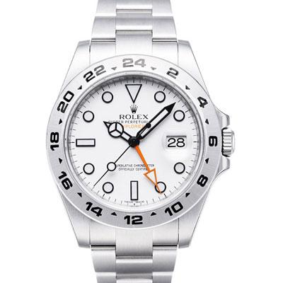 ROLEX 勞力士 Explorer II 216570 大探險家二號腕錶-白/42mm