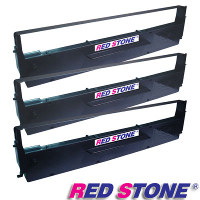 RED STONE for EPSON  #7753/LQ300黑色色帶組(1組3入)
