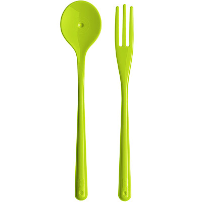 KOZIOL-義大利麵專用叉匙-綠
