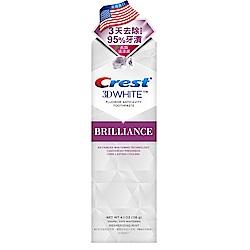 美國Crest 3DWhite專業鑽白牙膏116g(長效清新)
