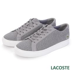 LACOSTE 女用運動休閒鞋-灰色
