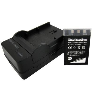 電池王 SANYO DB-L10/DBL10 高容量鋰電池+充電器組