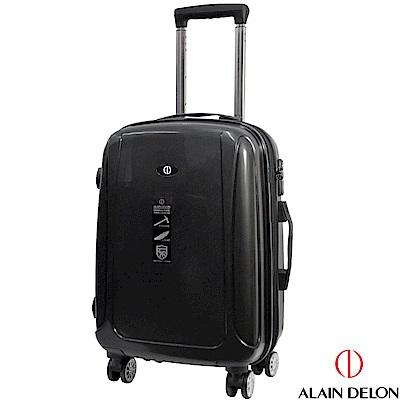 ALAIN DELON 亞蘭德倫 20吋旅者風情系列旅行箱(黑)