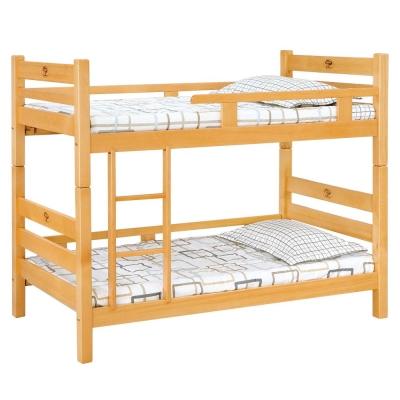 愛比家具 森林檜木3尺雙層床(不含床墊)