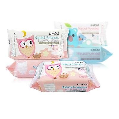 韓國MOTHER-K純淨自然幼兒濕紙巾(100抽/6包)-基本款