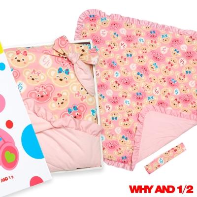 WHY AND 1/2 mini 被子/包巾禮盒