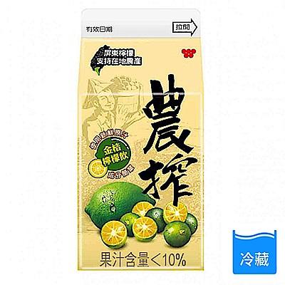 農搾金桔檸檬飲375ml(3入)