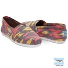 TOMS 幾何渲染織紋懶人鞋-女款(粉紅)
