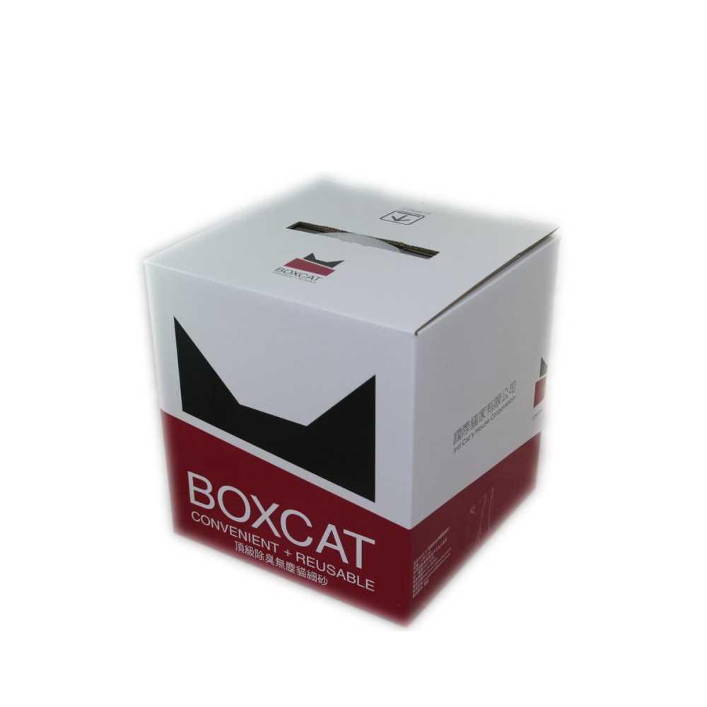 國際貓家BOXCAT 紅標-頂級無塵除臭貓砂 11L(11kg)