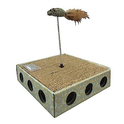 MDOBI摩多比-貓丸家 耐抓貓咪玩具盒-逗貓魚