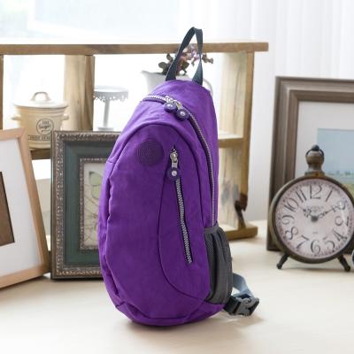 COUNT DUCK 美系悠活輕量漫遊胸口包-CD-029-紫色