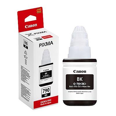 Canon GI-790BK G3000/G4000 原廠黑色墨水匣(G系列)