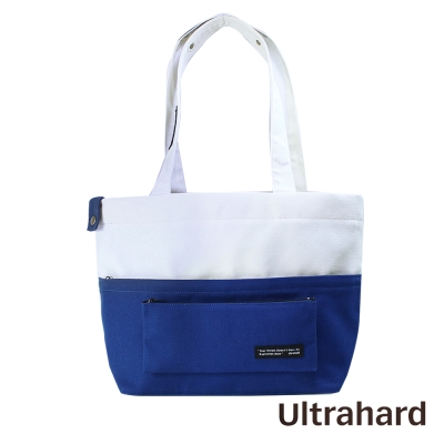 Ultrahard巧扣托特包- Classic Motto經典格言系列 夢想(白藍)
