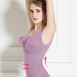可蘭霓Clany  Tactel 輕機塑身M-EQ(3XL)美體衣 優雅紫