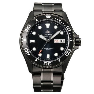 ORIENT 東方錶 黑水鬼 機械錶(FAA02003B)-黑/41.5mm