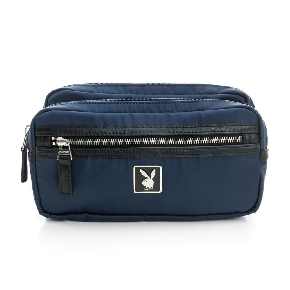 PLAYBOY- S- Sofronio 系列胸前包-藍色