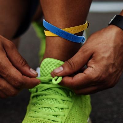 MORE愛迪莫-鈦鍺-運動腳環-彩色