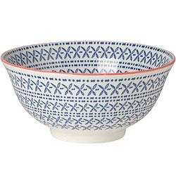 NOW 圖騰餐碗(花卉藍)