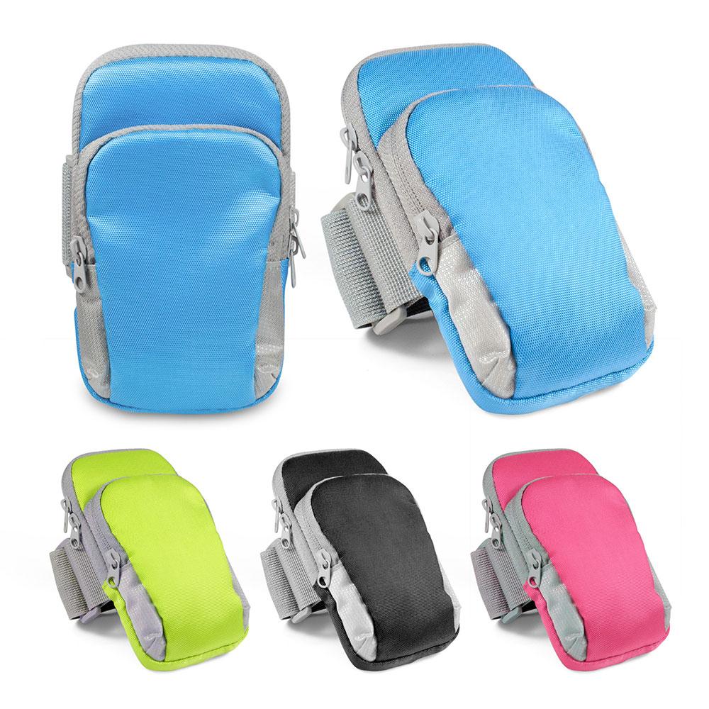 人體工學 機能萬用雙袋運動手機臂套