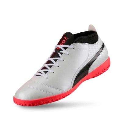 PUMA-PUMA ONE 17.4 IT男性足球運動鞋-白色