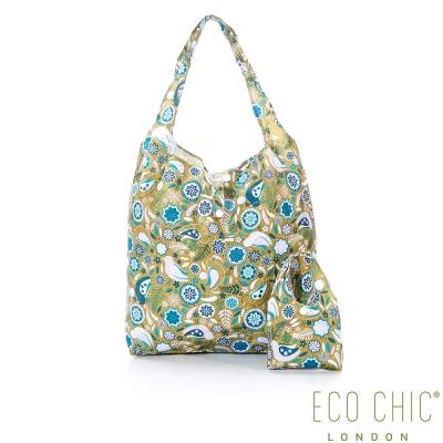 英國ECO CHIC折疊購物袋-花園