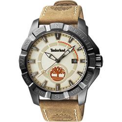 Timberland 頂尖對決時尚潮流腕錶-米x卡其/47mm