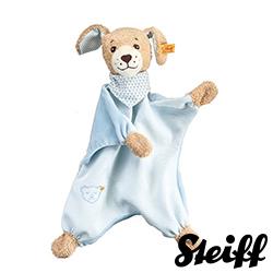 STEIFF德國金耳釦泰迪熊 - 晚安狗安撫巾 30cm (北鼻系列)