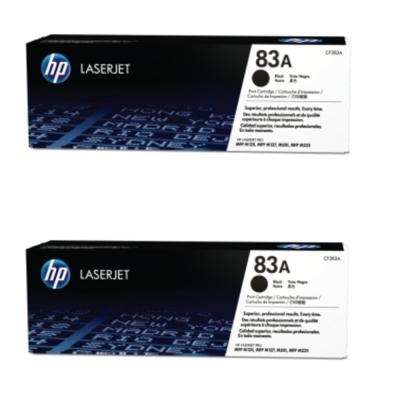 HP CF283A 原廠黑色碳粉匣雙包裝