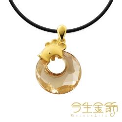 今生金飾 富貴雞墬 時尚黃金墬飾