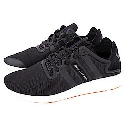 Y-3 YOHJI RUN 網布拼接綁帶運動鞋(黑色)