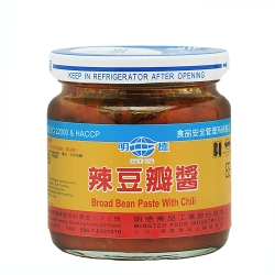明德 辣豆瓣醬(小)165g x12罐/箱