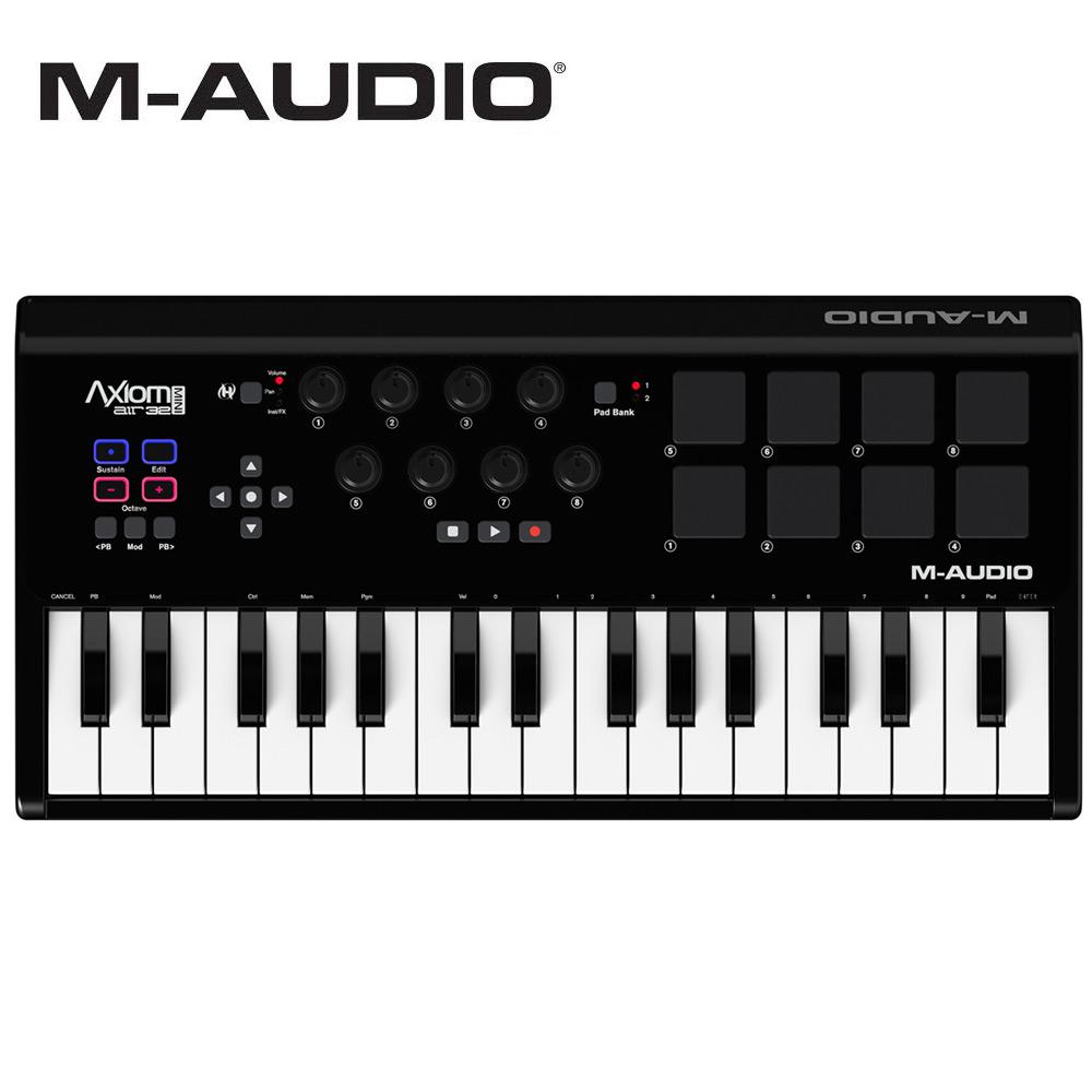 M-Audio Axiom AIR Mini 32 MIDI 鍵盤控制器