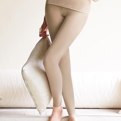 曼黛瑪璉-2014AW-保暖褲M-XL-鞣革膚