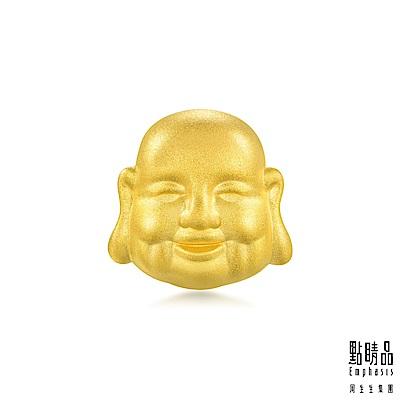 點睛品 Charme 文化祝福 彌勒佛菩薩轉運珠 黃金串珠