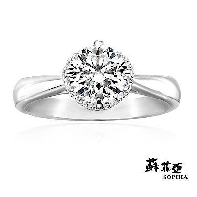 蘇菲亞 SOPHIA - 薔薇1.00克拉FVS2鑽石戒指