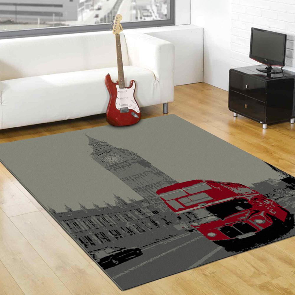 范登伯格 - 艾薇兒 多變視覺地毯 - 大時鐘 (140 x 200cm)
