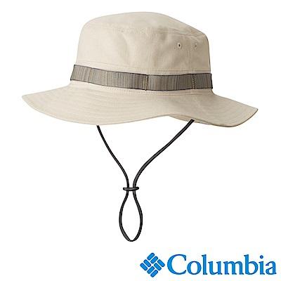 Columbia哥倫比亞 男女-抗UV50遮陽帽-卡其 (UCU00280KI)