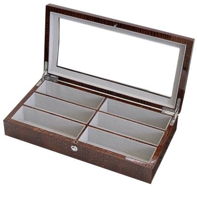 PARNIS BOX 眼鏡盒6只入 鱷魚紋 鋼琴烤漆 獨家限定 禮物 眼鏡02-2 訂製款