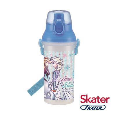 Skater直飲冷水壺 (480ml)冰雪奇緣-繽紛白