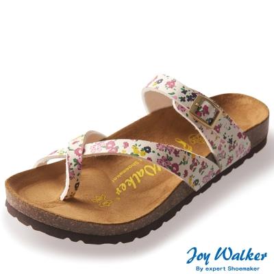 Joy Walker 素面交叉帶夾腳涼鞋* 花色