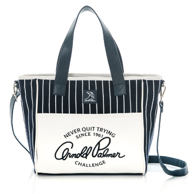 Arnold Palmer- 2WAY手提包 Preppy Style 學院風系列-藍色