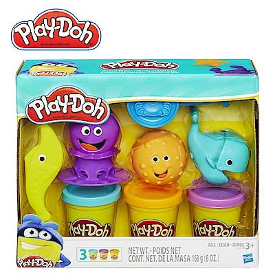 Play-Doh培樂多-海底世界遊戲組