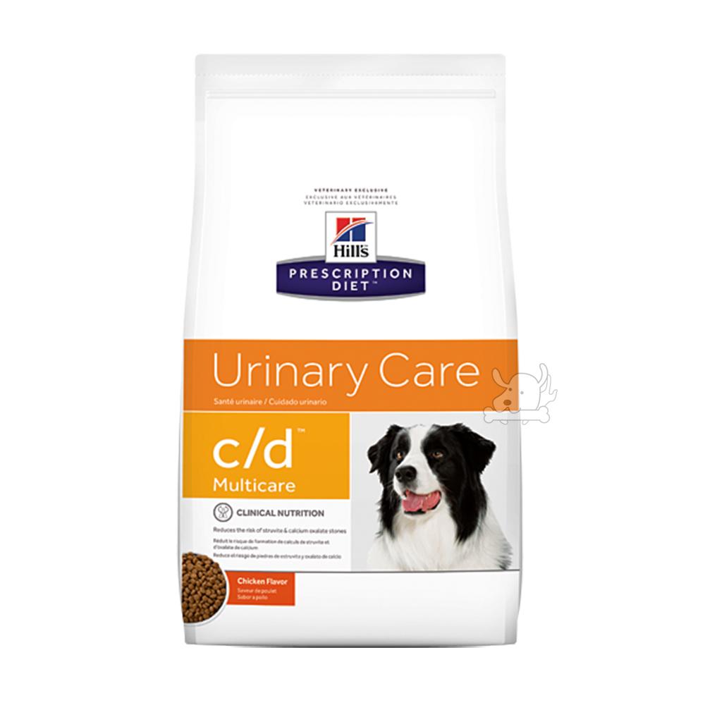 Hills 希爾思 泌尿道護理 c/d 犬用處方乾糧 10111 8.5磅 1包