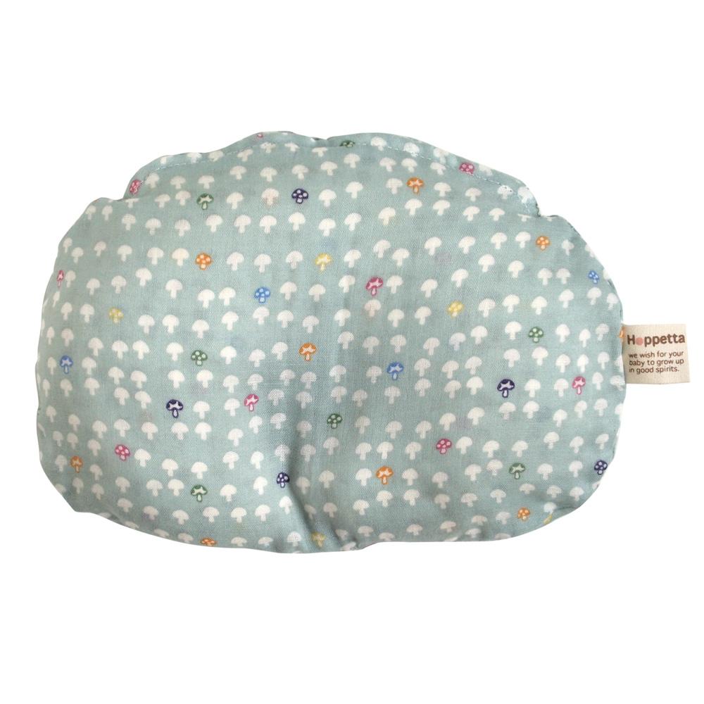 【Hoppetta】蘑菇多功能嬰兒枕 (水藍)