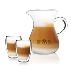 FUSHIMA富島 日式風杯壺組(分享壺850ML+玻璃杯350ML*2